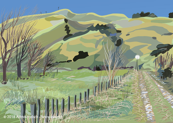 New digital print: Wairarapa Backroads I
