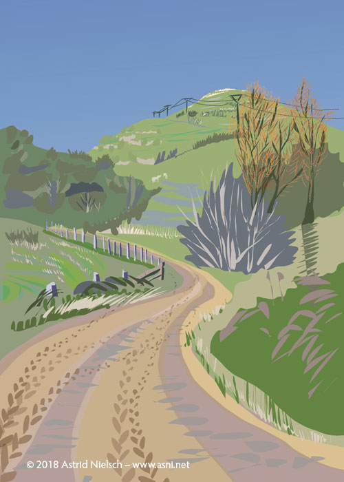 New digital print: Wairarapa Backroads II