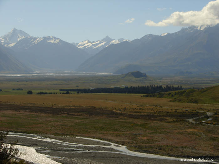 photo: Upper Rangitata valley