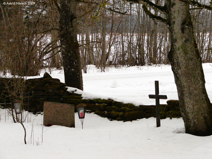 photo: village cemetery