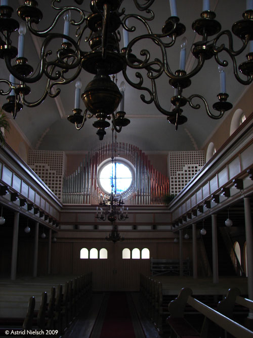 photo: Lutheran church, inside