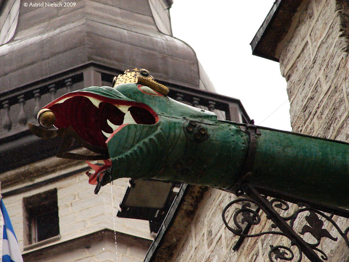 photo: Tallinn: dragon