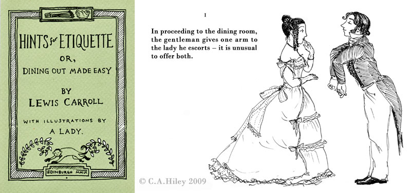 C.A.Hiley: Hints for Etiquette by Lewis Carroll