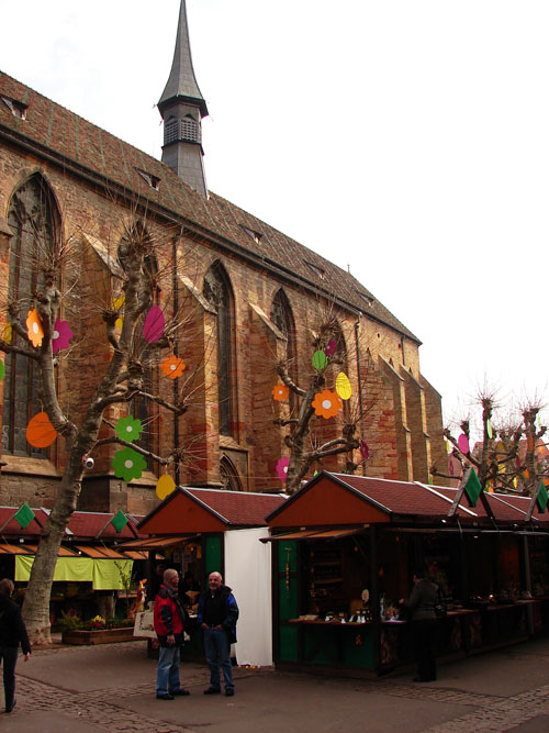 photo: Colmar: Easter market