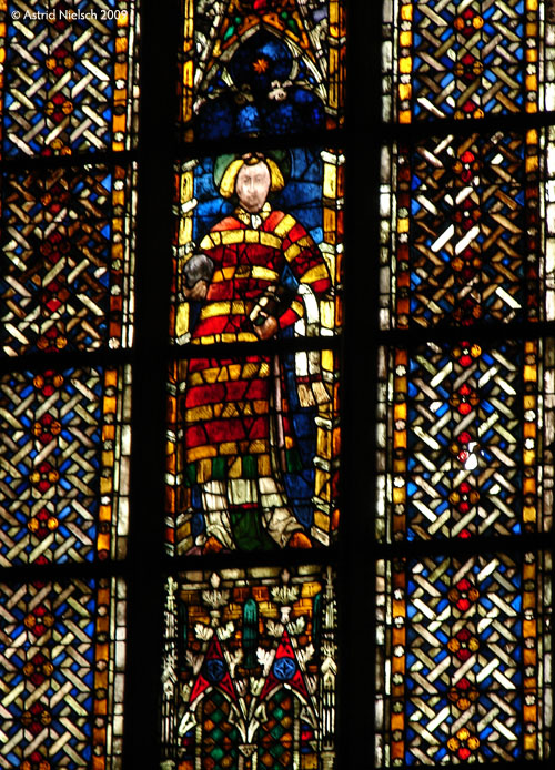 photo: Colmar: stained glass window