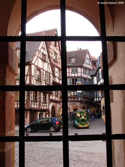 photo: Colmar: medieval town centre