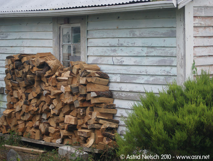 photo: wood stack