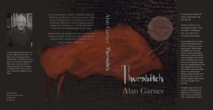 Alan Garner: Thursbitch book cover design