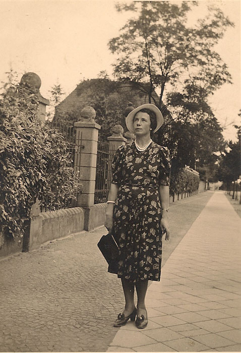 Edith Schnickwald, my grandmother, in 1941