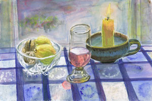 Still Life, water colour, version 1