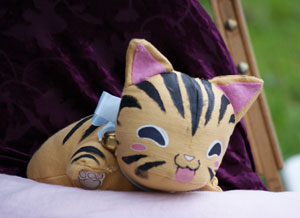 tiger soft toy by Nani Mahal