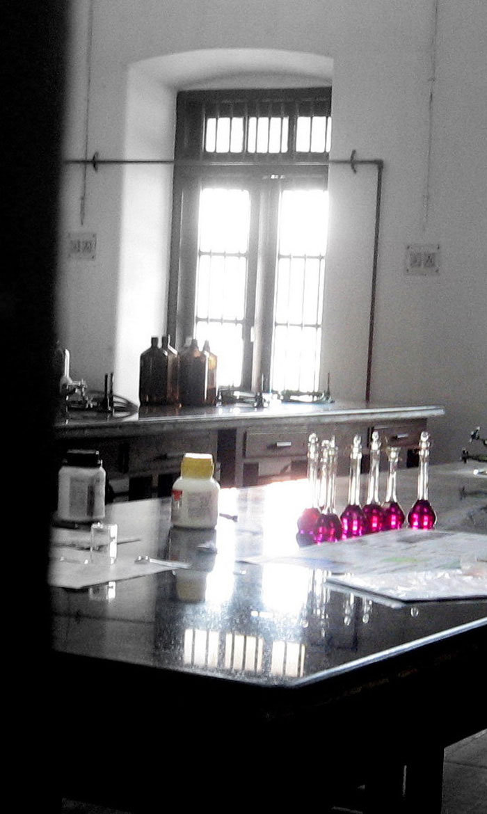 A Peek at the Science Lab by Anupamas