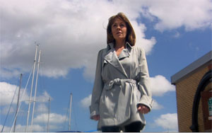 Sarah Jane sorts things out: still from The Sarah Jane Adventures, season 2: The Mark of the Berserker (2008)