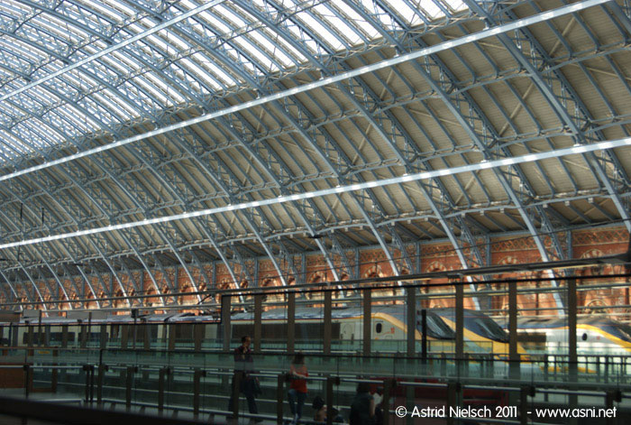 London King's Cross/St Pancras station