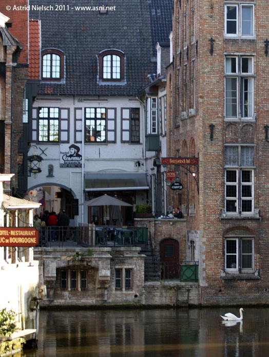 Brugge streets and canals