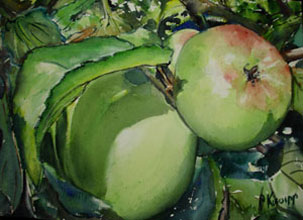 Little Green Apples by Pat Knorpp