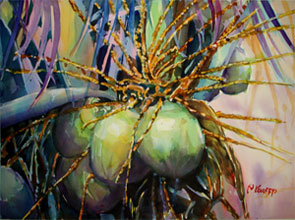 Colourful Coconuts by Pat Knorpp