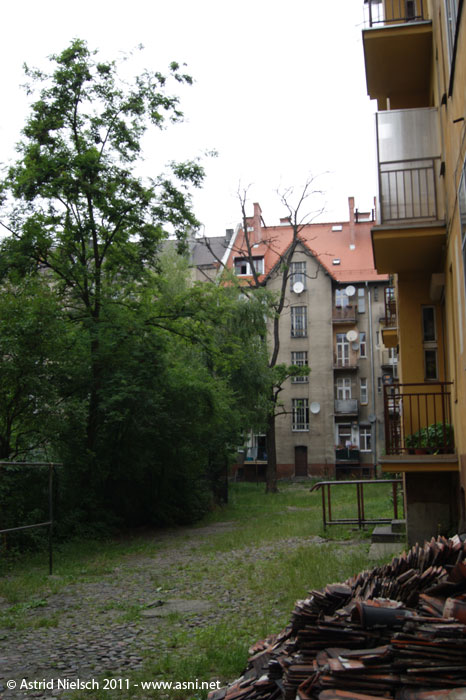 My mother's childhood home, Torún, Poland