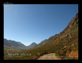 South Africa 2012 photo calendar by Stephanie Noverraz