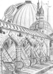 University of New Earth, pencil version