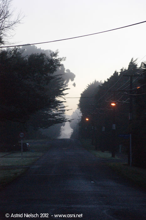 Early Morning in Featherston, Wairarapa
