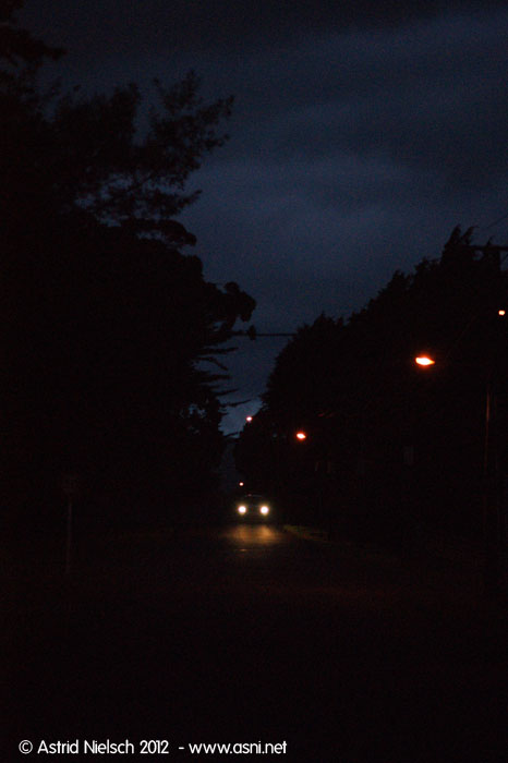 Nighttime, Featherston