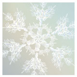Snowflake Christmas/seasonal card