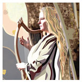 Galadriel's Farewell Song now available as greeting card