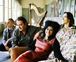Asita Hamidi and her band Bazaar