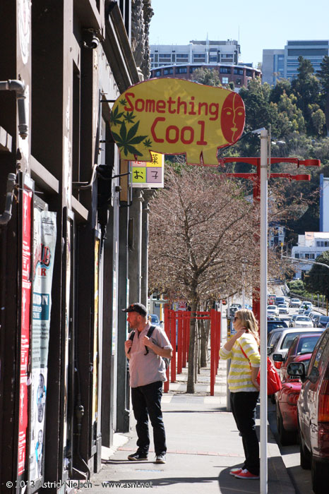 A walk down Cuba Street, Wellington