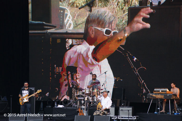 Trinity Roots on the big stage, WOMAD Taranaki 2015