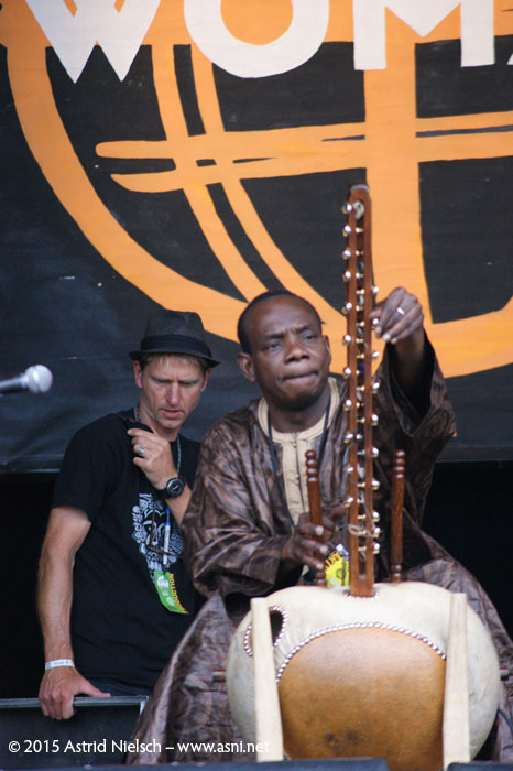 Soundcheck with Toumani and Sidiki Diabaté, WOMAD Taranaki 2015