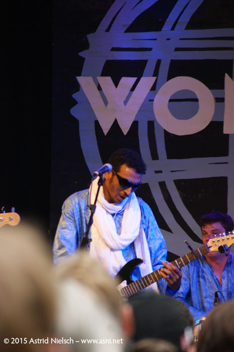 Bombino is letting it rip, WOMAD Taranaki 2015